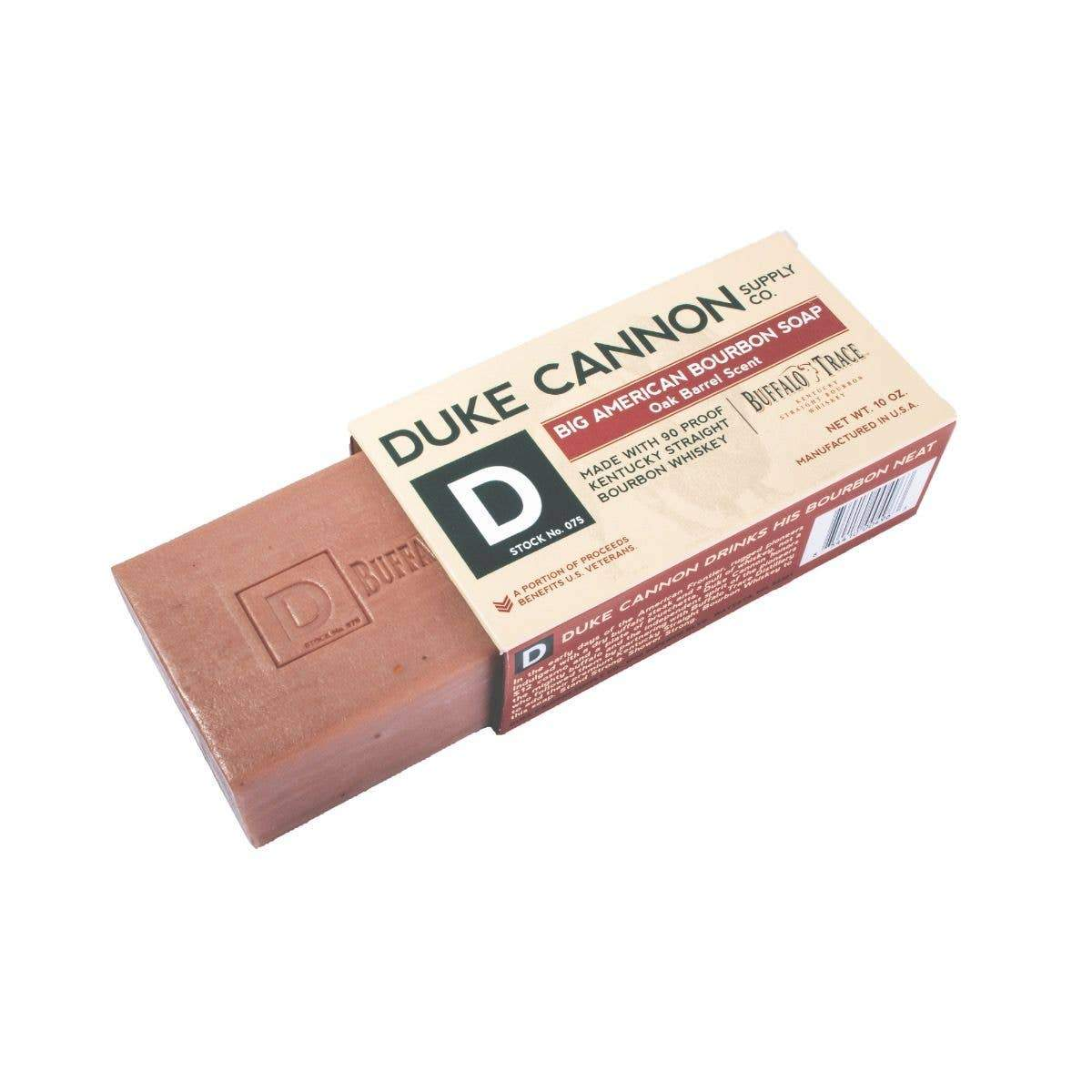 manly bourbon soap Duke Cannon