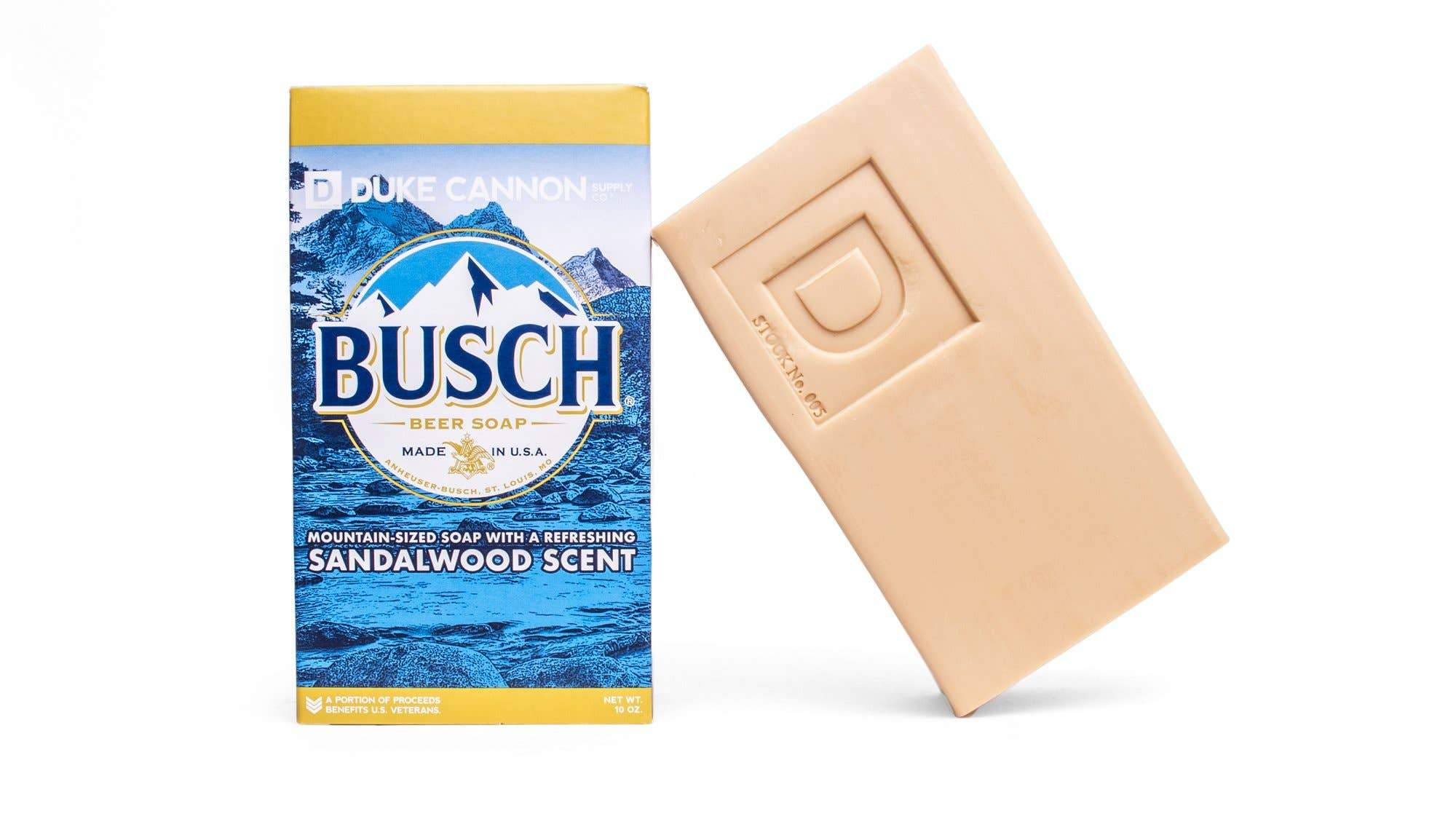 Busch Beer Soap - Duke Cannon
