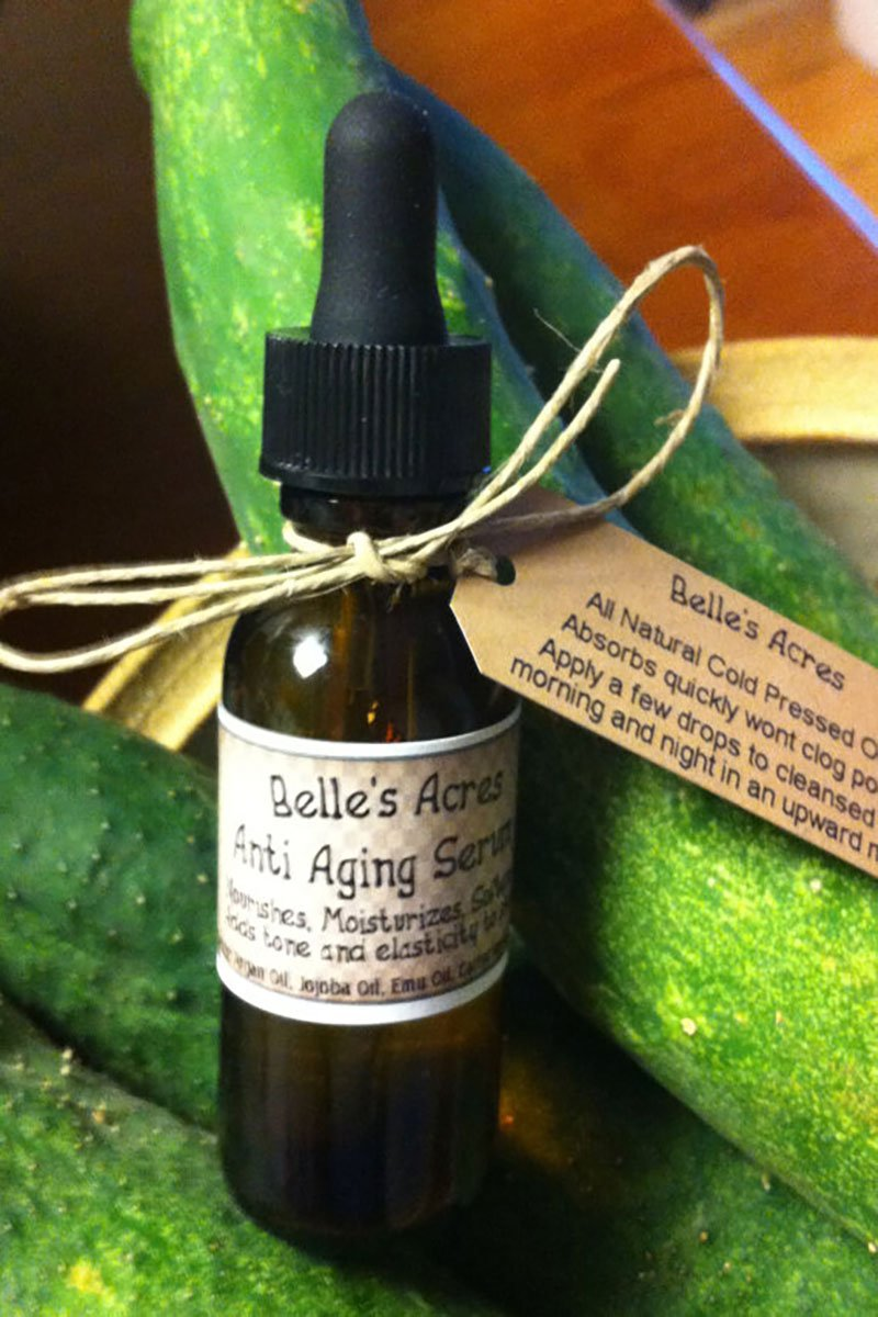 All natural anti-aging serum Belle's Acres