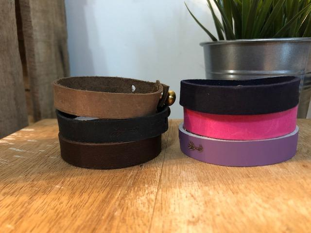 single wrap leather bracelet