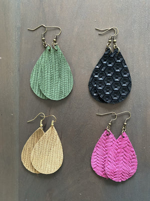 Teardrop Earrings - Medium