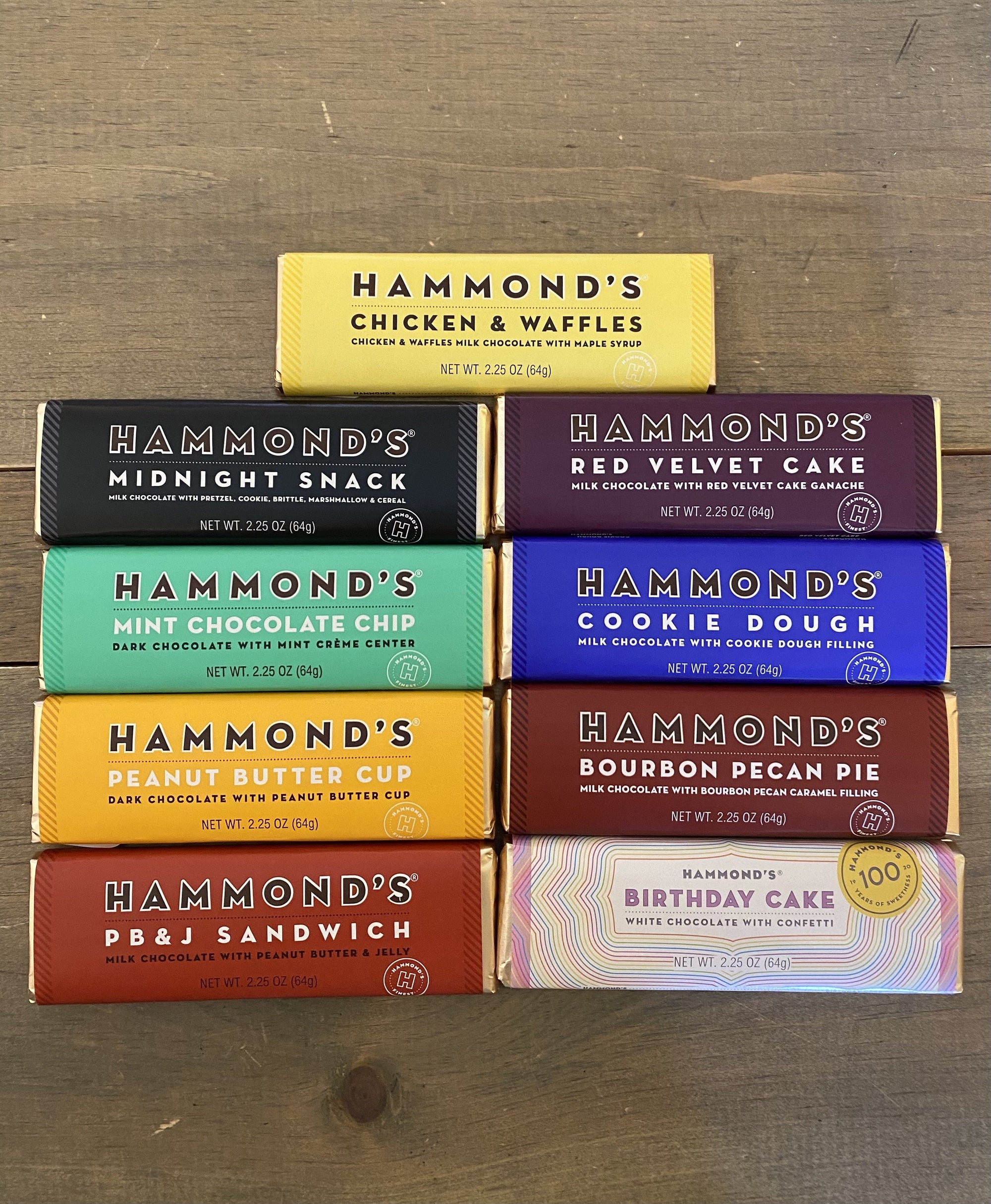 Hammond's Chocolate Bars
