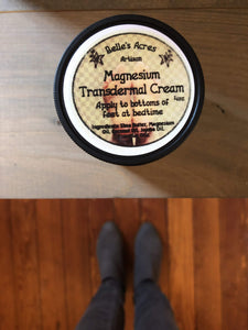 Belle's Acres Magnesium Transdermal Cream