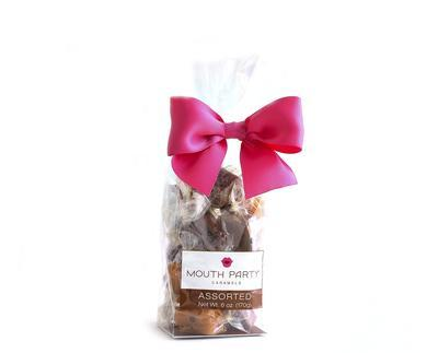 all natural caramels gift bag