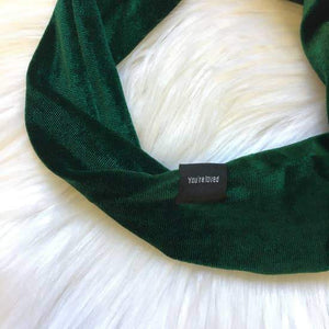 Velvet Wire Headbands