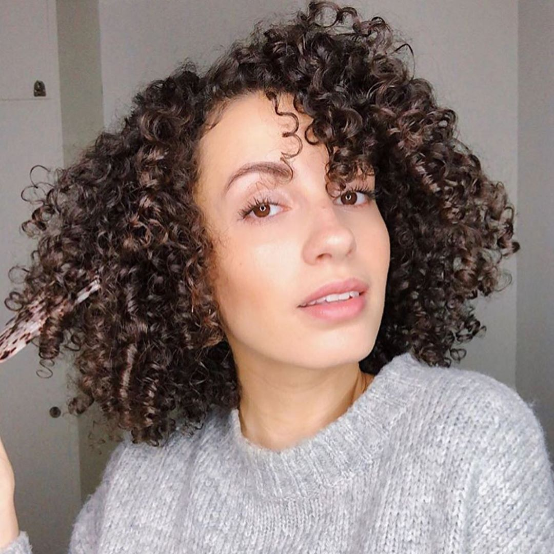Sofia Hassani @curlsfirst using Only Curls Black Speckle Afro Comb