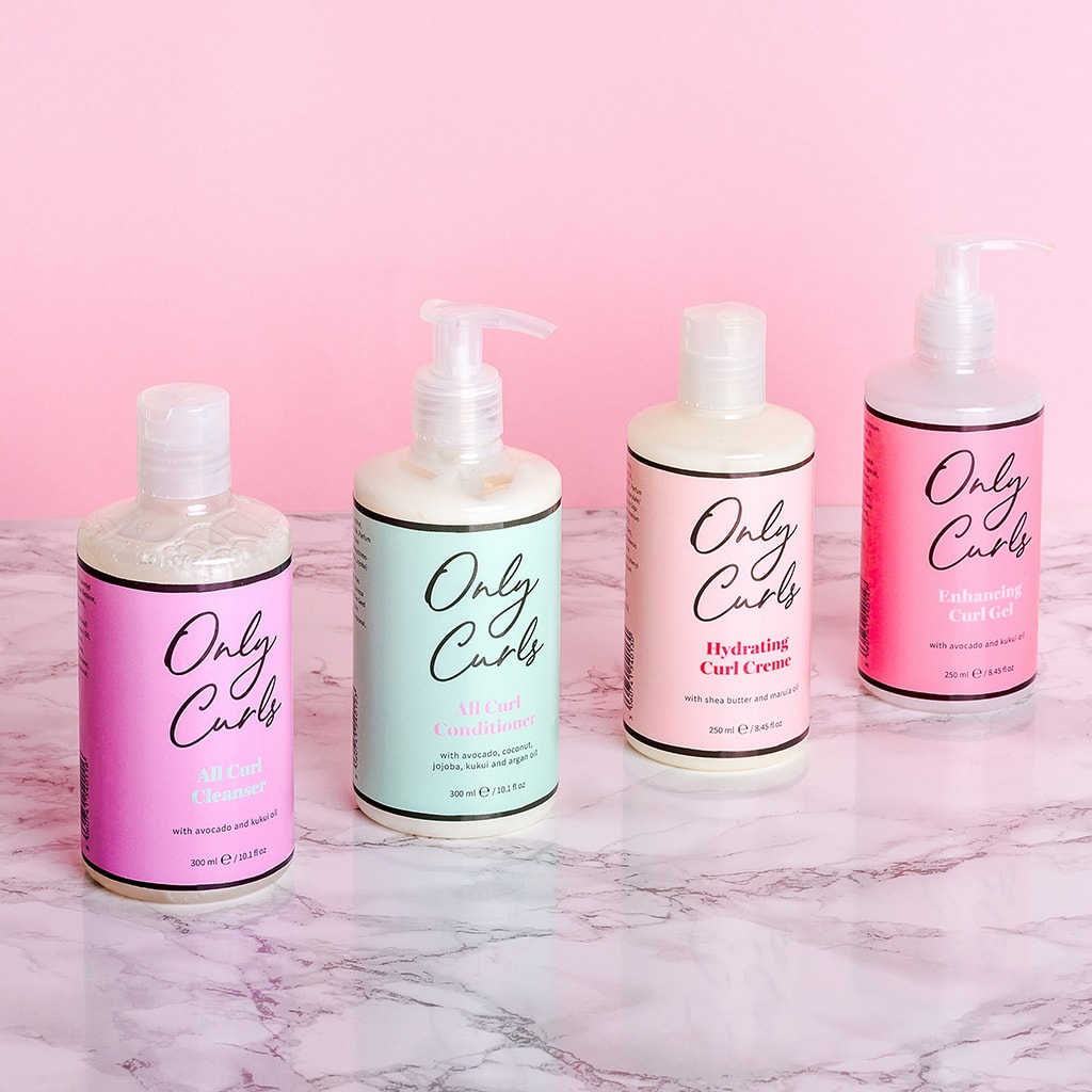 Only Curls Mini Travel Collection Gift Set