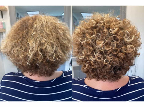 Curly Tranformations with Only Curls Styling products