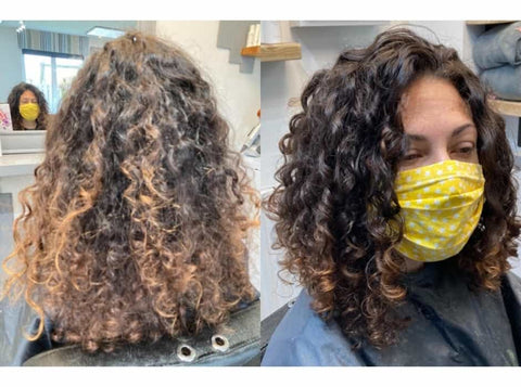 An amazing curl transformation with Only Curls