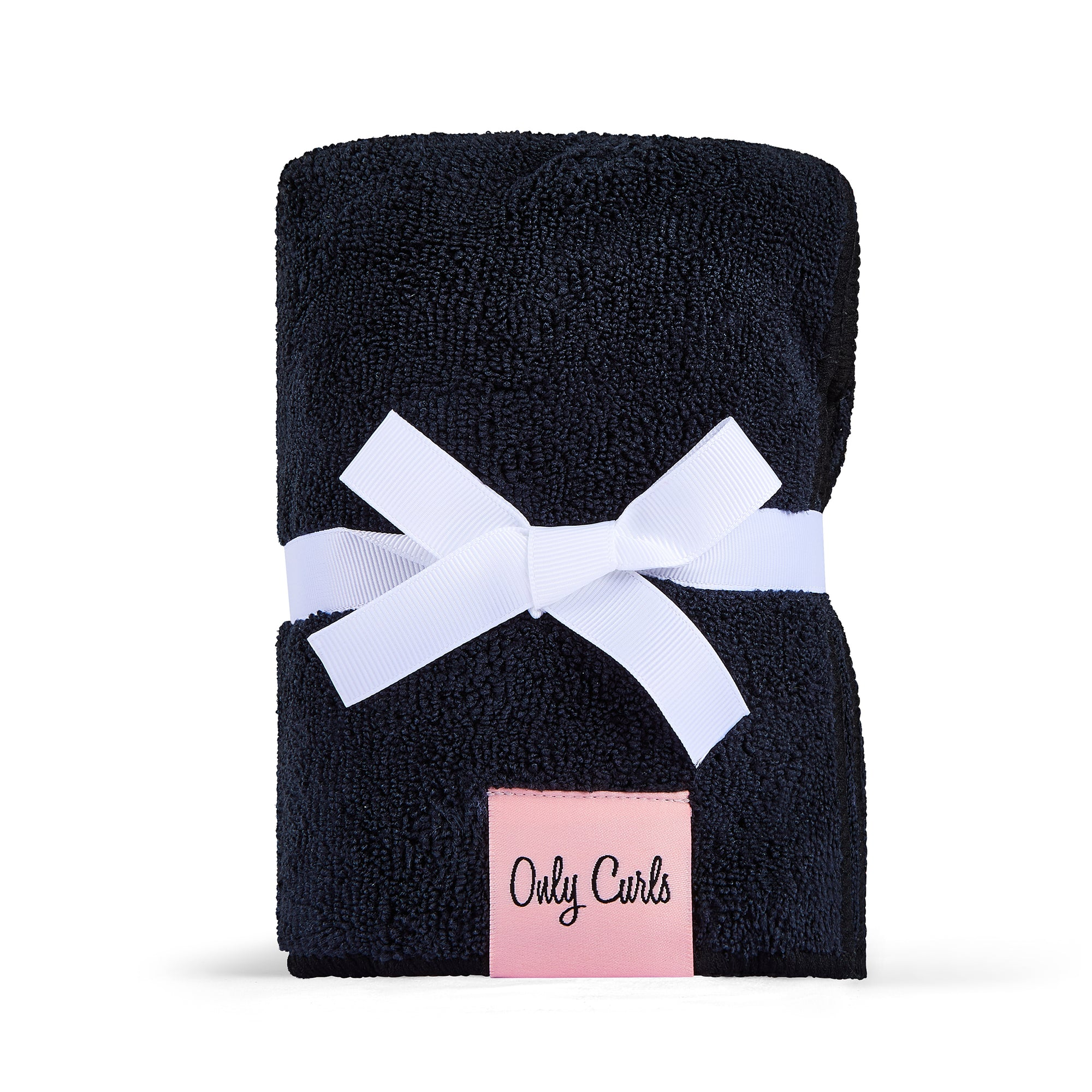 Only Curls Microfibre Hair Towel - Black - Only Curls