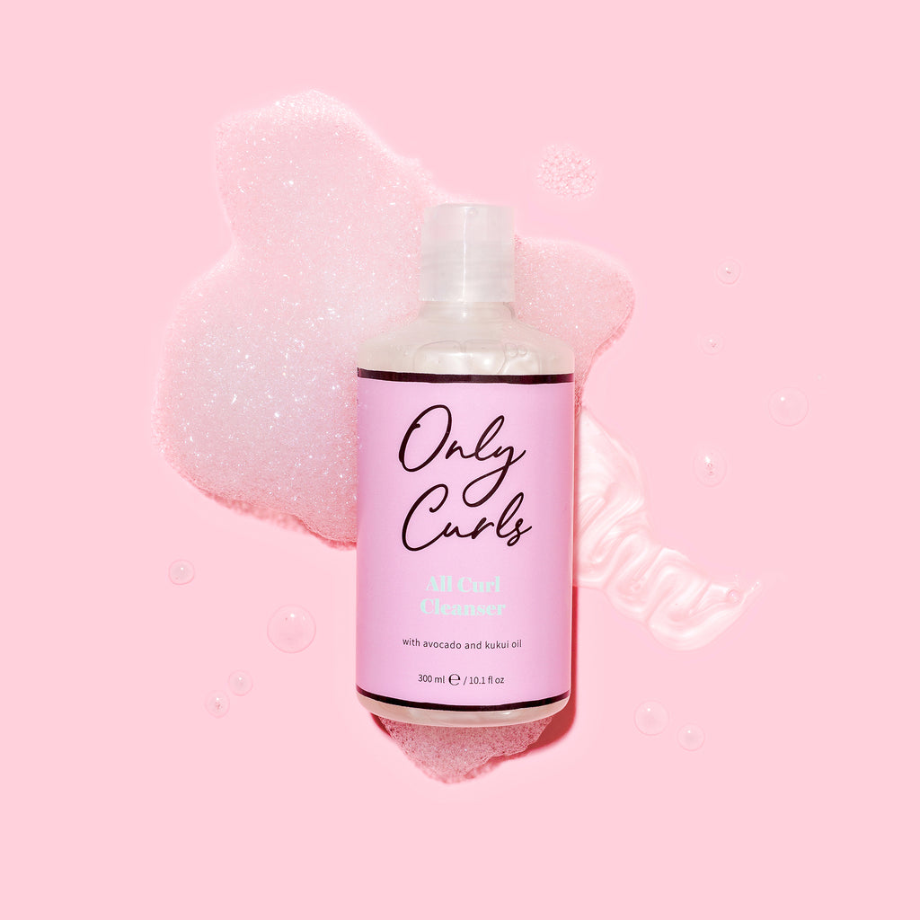 Only Curls All Curl Cleanser foamy wash