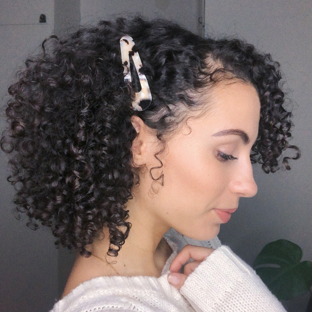 Only Curls Black Speckle Snap Hair Clips - Only Curls