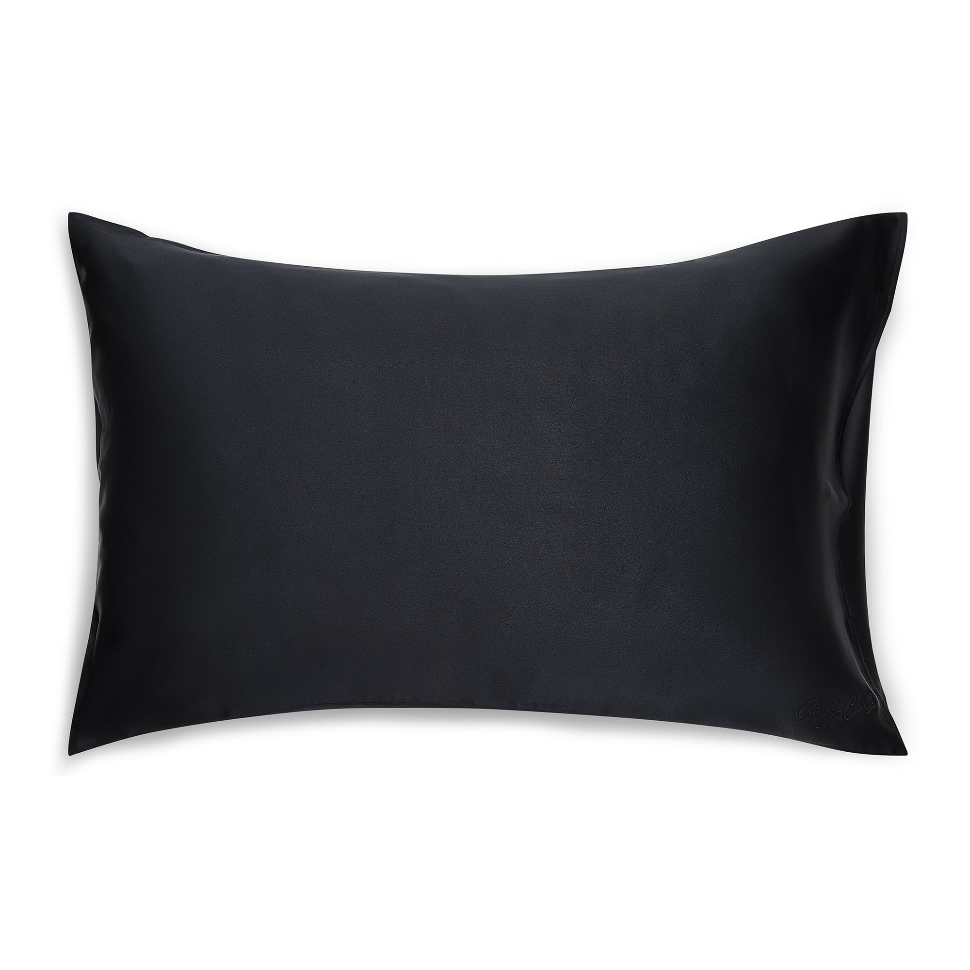 Only Curls Silk Pillowcase - Black - Only Curls