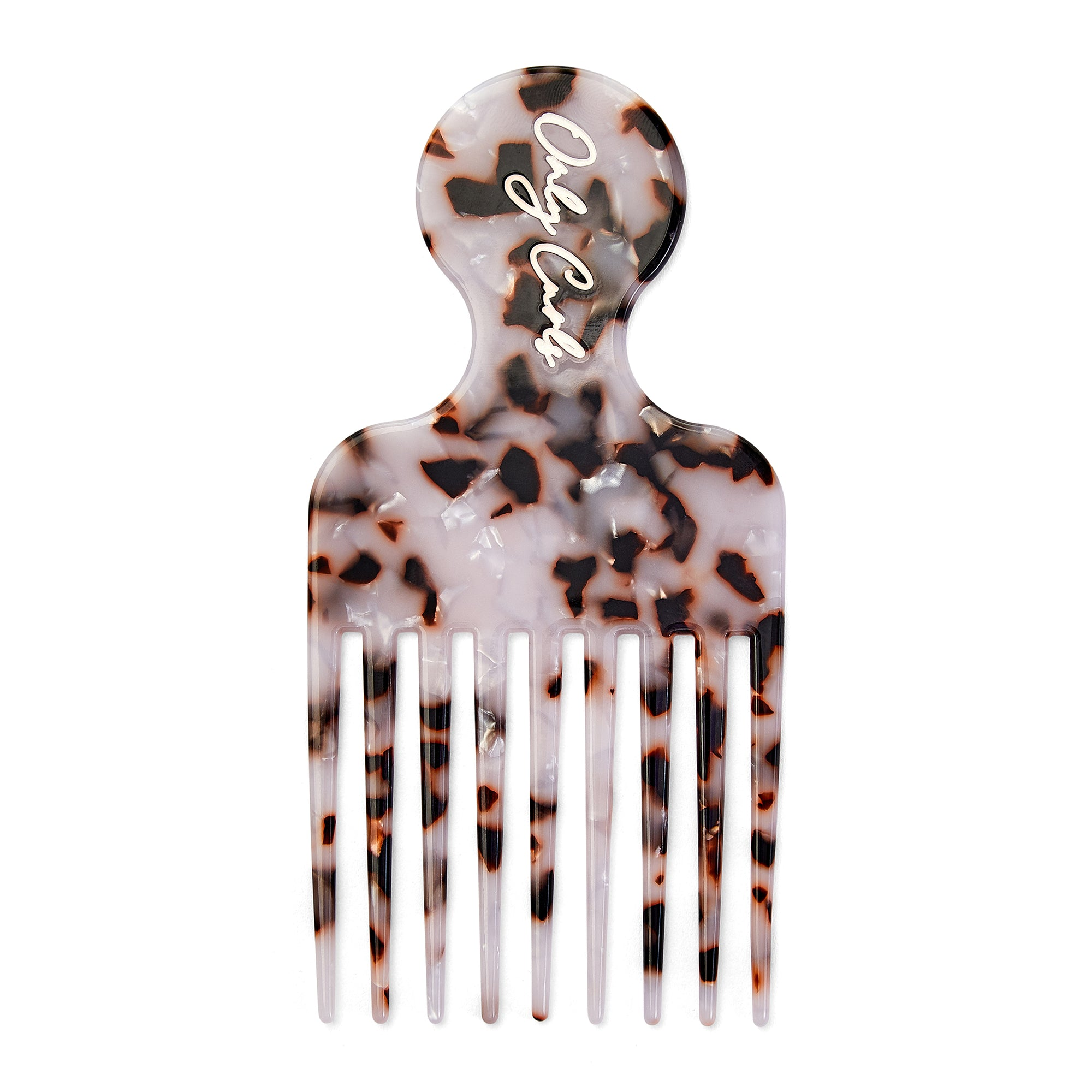 Only Curls Black Speckle Afro Comb - Only Curls