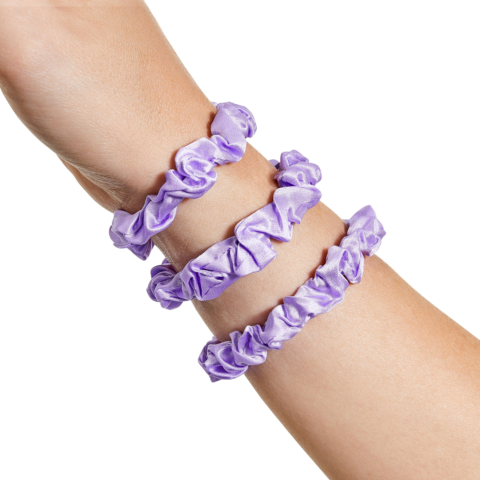 Only Curls Silk Scrunchies - Lavender Mini - Only Curls