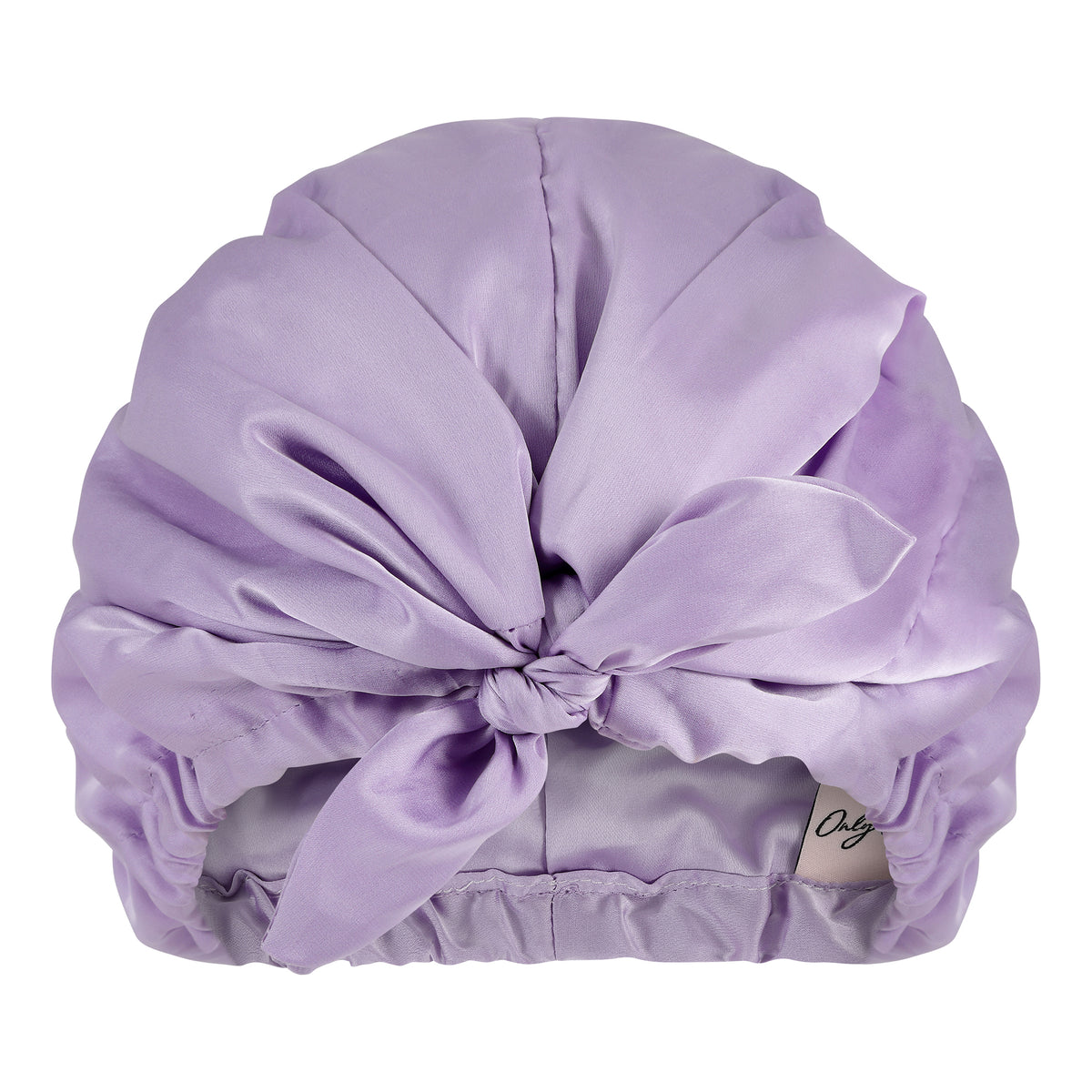 Only Curls Satin Sleep Turban - Lavender - Only Curls