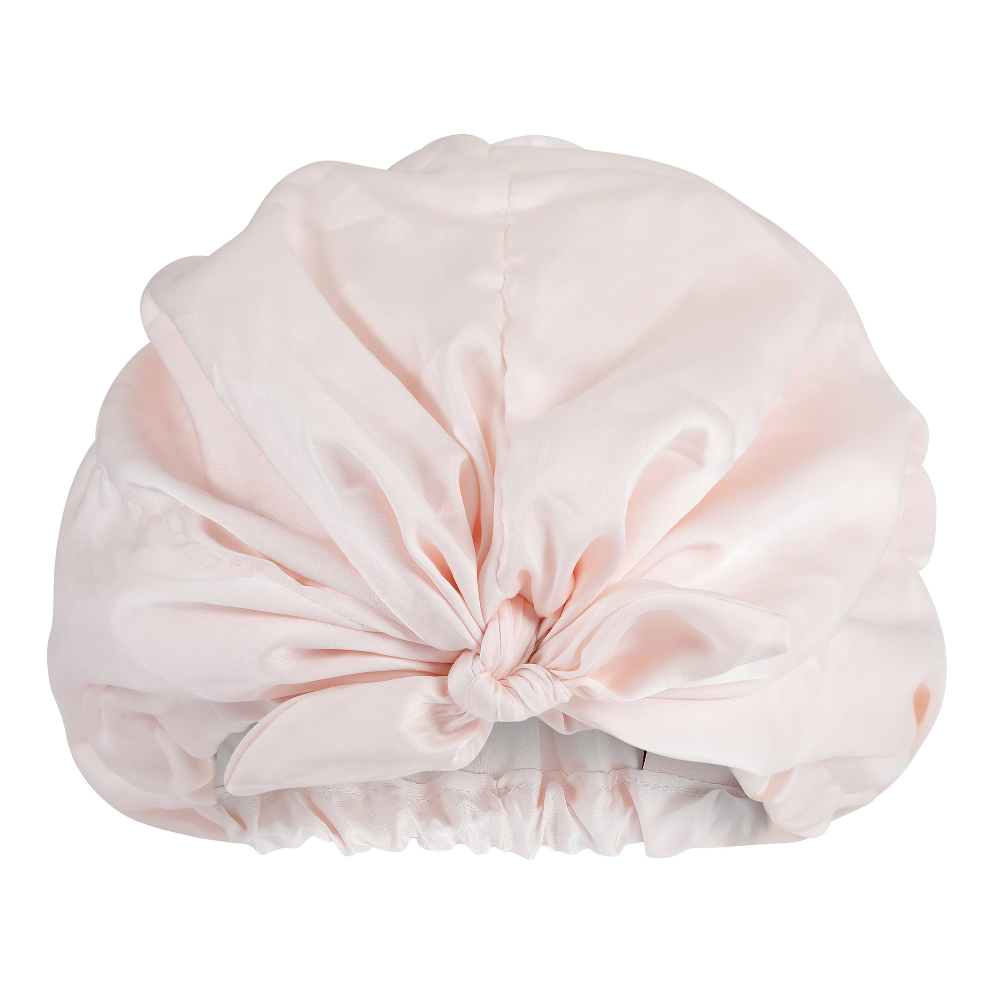 Only Curls Satin Sleep Turban - Pink - Only Curls
