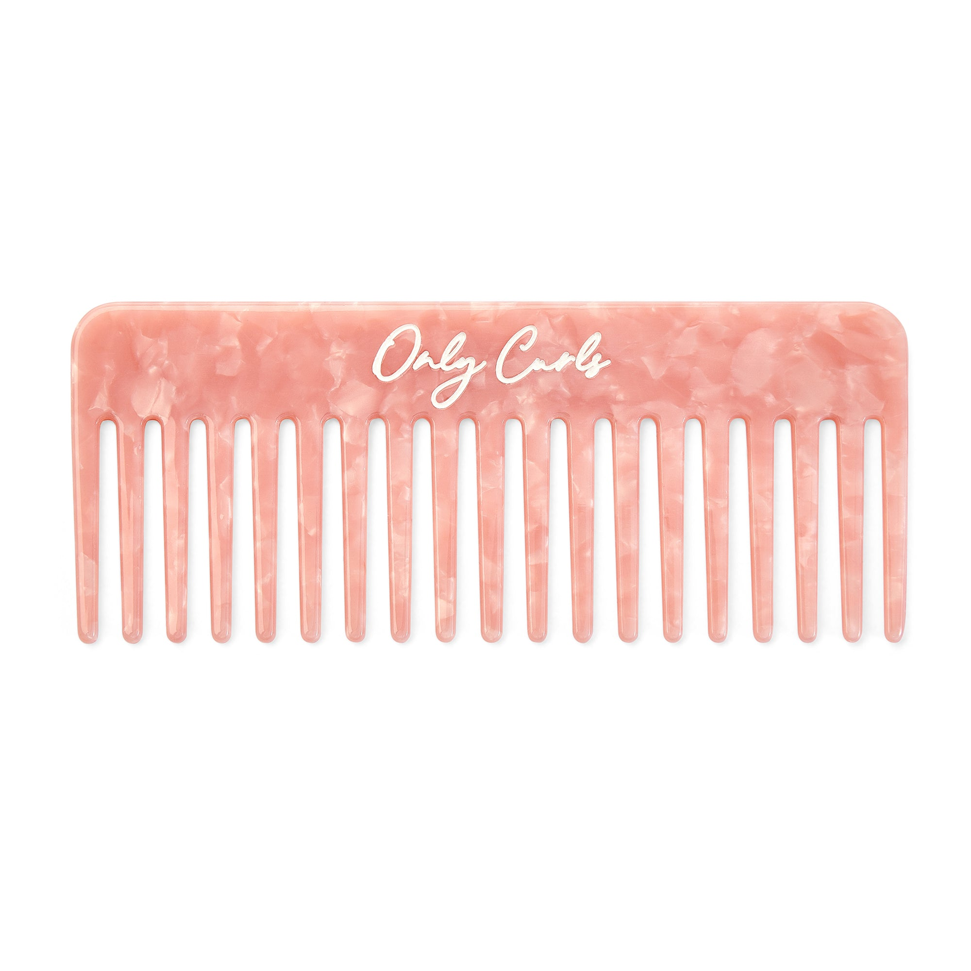 Only Curls Pink Shimmer Comb - Only Curls