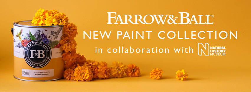 Farrow and Ball - New Paint Collection in collaboration with the Natural History Museum