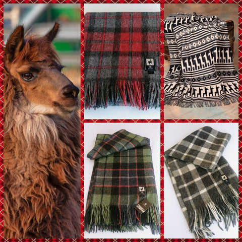 Alpaca Throw -Scottish Plaid