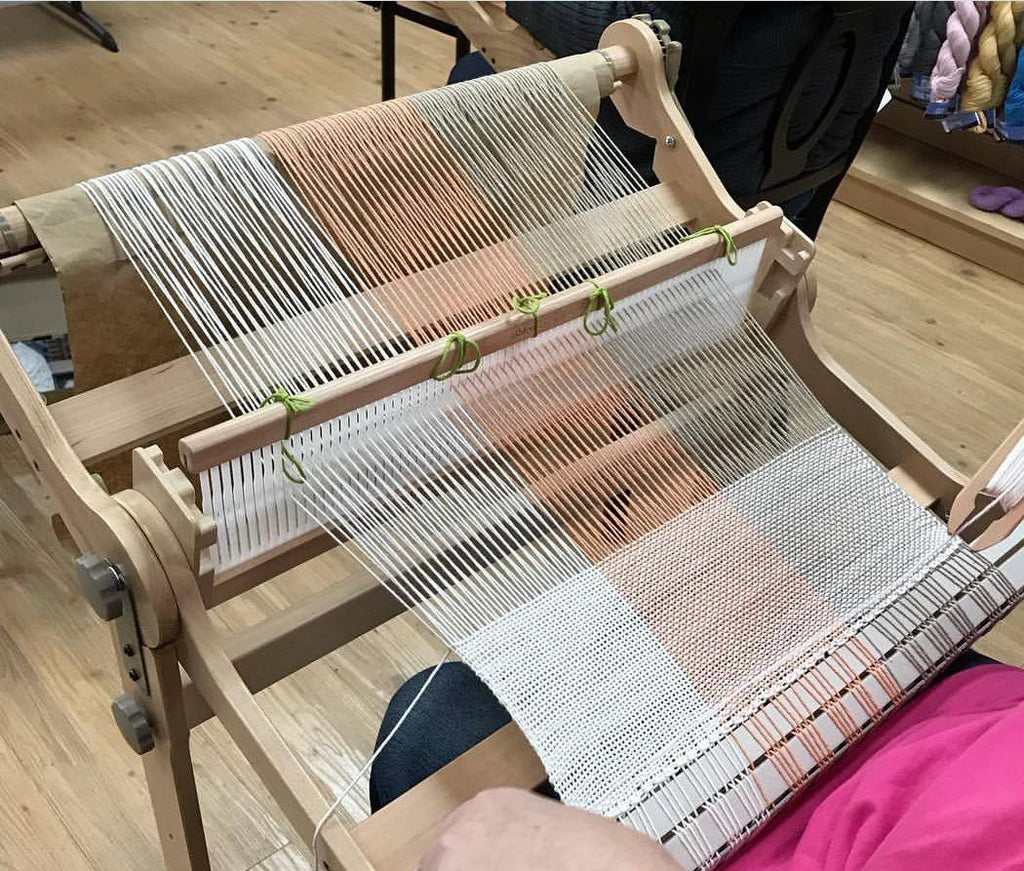 Beginning Weaving on Rigid Heddle Looms