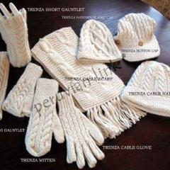 Trenza Fingerless Mitts