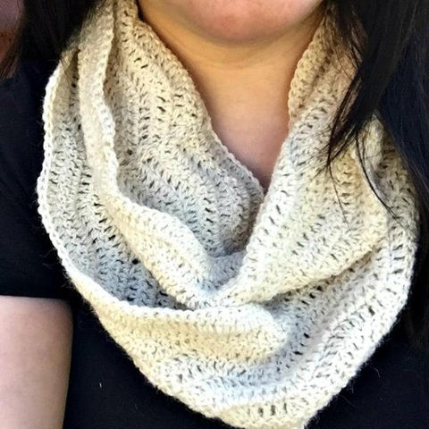 "Bo's ""Turkish Delight"" Crochet Cowl PATTERN"