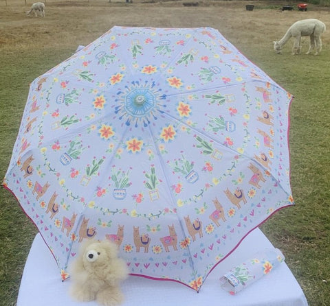 Alpaca Herd Umbrella