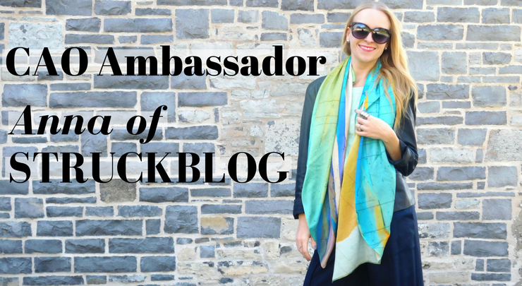 Introducing the first CAO Ambassador, Anna of STRUCKBLOG!