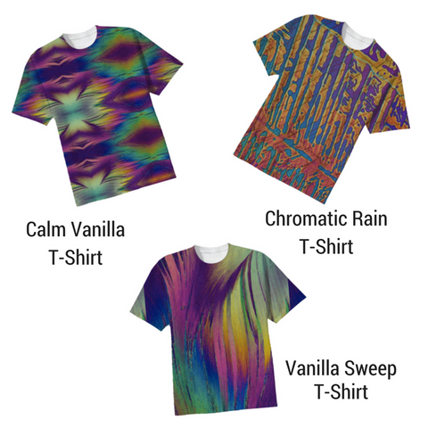 Crystal Art Outfitters New Crystal T-Shirts Designs