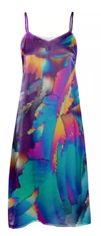 Flowing Crystals Slip Dress - Crystal Art Outfitters
