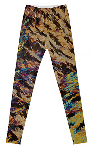 Hidden Tiger Crystal Leggings - Crystal Art Outfitters