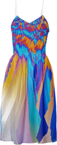 Ice Phoenix Crystal Summer Dress by Crystal Art Outfitters Summer Collection 2016