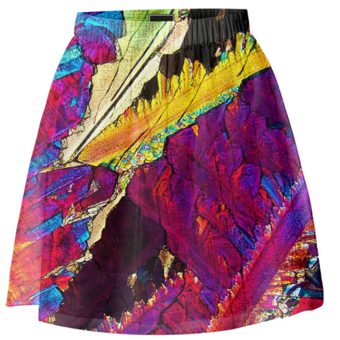 Paradise Breeze Crystal Skirt - Crystal Art Outfitters