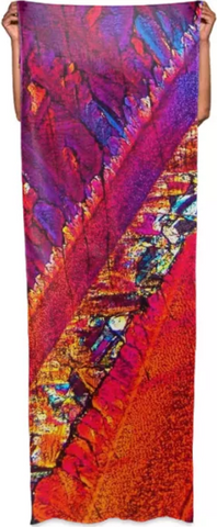 Paradise Breeze Crystal Wrap Scarf - Crystal Art Outfitters