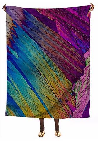 Parrot Feathers Crystal VIP Silk Scarf - Crystal Art Outfitters