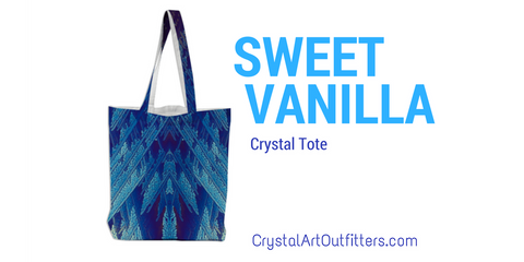 Sweet Vanilla Crystal Tote by Crystal Art Outfitters