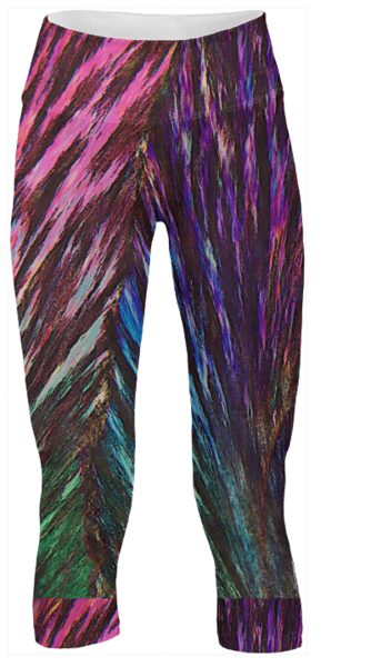 Cool Menthol Crystal Yoga Pants