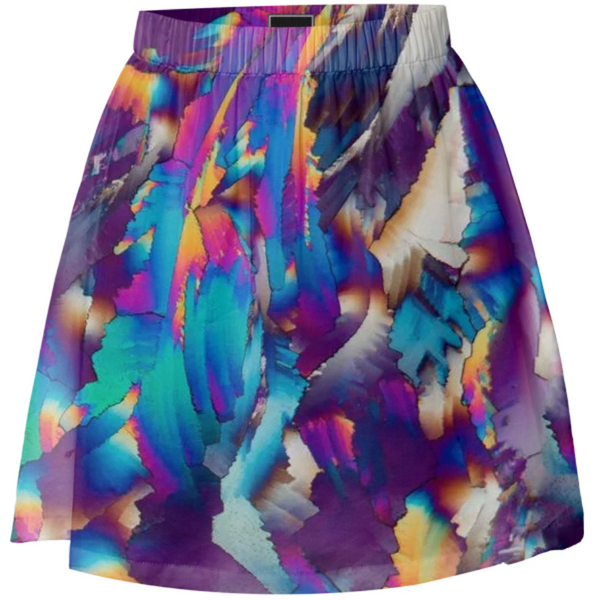 Flowing Crystals Summer Skirt