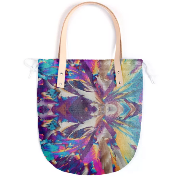 Crystal Color Splash Summer Tote