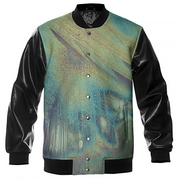 Moon Station Crystal Varsity Jacket