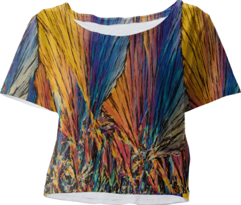 Crystal Art Outfitters Crystal Crop Top
