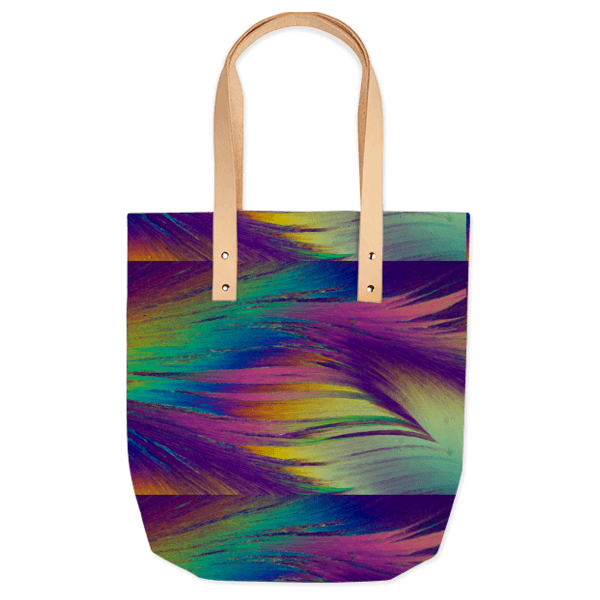 Vanilla Sweep Crystal Summer Tote