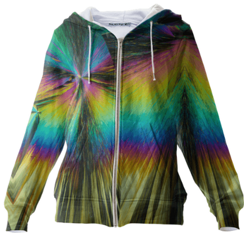 Firecracker Crystal Hoodie by Crystal Art Outfitters