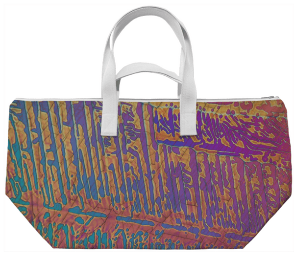 Chromatic Rain Crystal Weekend Bag