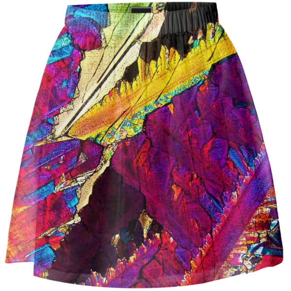 Paradise Breeze Crystal Summer Skirt