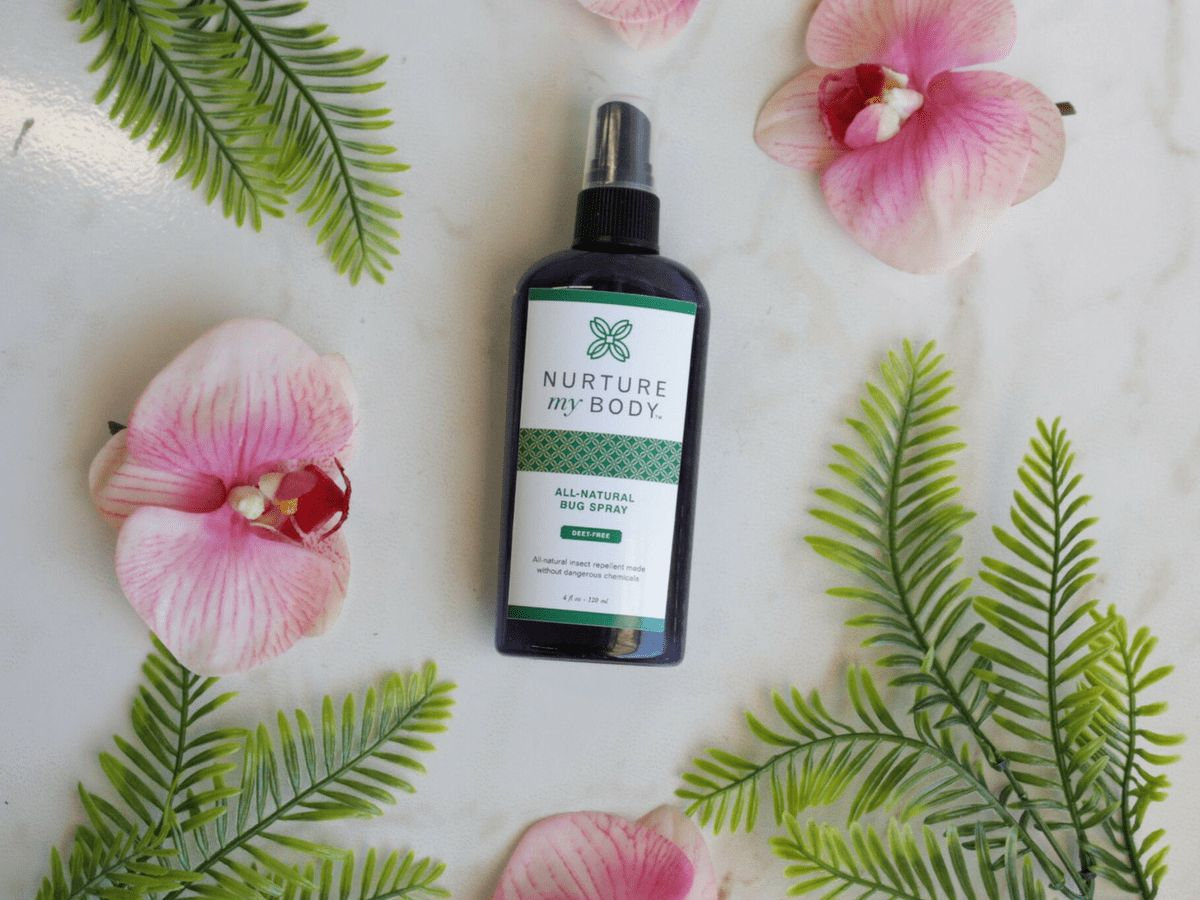 Why Choose Natural Bug Repellent Nurture My Body