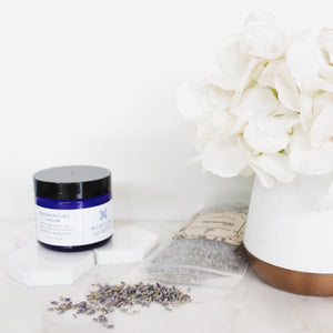 Fragrance Free Regenerating Cream with borage seed oil and marsh mallow root to nourish dehydrated damaged skin