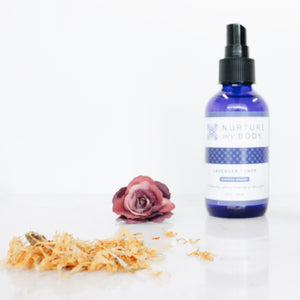 Lavender Toner Certified Organic by Nurture My Body