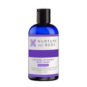 Calming Lavender Body Wash Sulfate Free by Nurture My Body